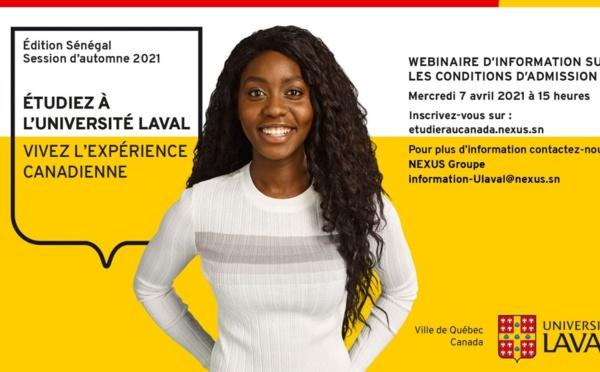 SENEGAL: ÉTUDIEZ À L'UNIVERSITÉ LAVAL, VIVEZ L'EXPÉRIENCE CANADIENNE