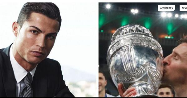 Pendant que Messi triomphait à la Copa America, Cristiano Ronaldo inaugurait un hôtel à New York