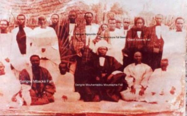 La descendance de Cheikh Ibrahima Fall