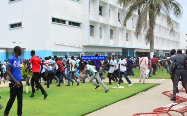 65 photos-Revivez en images le film de l'humiliation du Président Macky Sall  à l'Université Cheikh Anta Diop