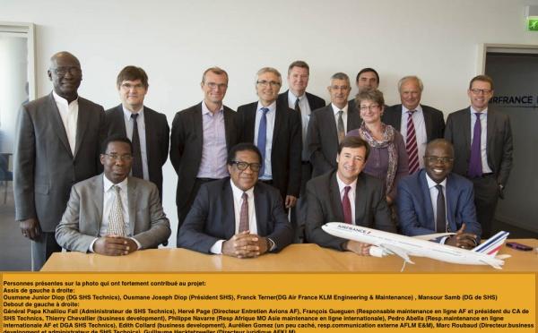 SHS Technics intègre le réseau mondial d'entretien aéronautique d'Air France KLM