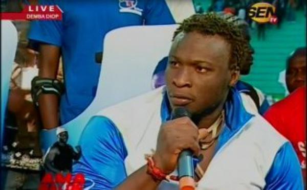 """Vidéo: Réaction de Ama Balde après sa victoire sur Gouy gui: """"Je veux affronter soit  Modou lô, Lac 2 ou Gris Bordeau"""""""