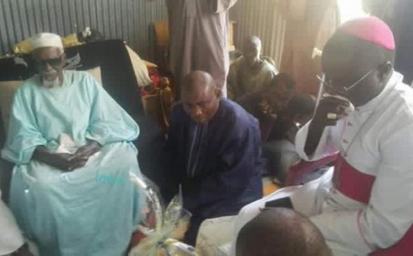 Arrêt sur image : L'Archevêque de Dakar rend visite à Serigne Cheikh Sidy Mokhtar Mbacké