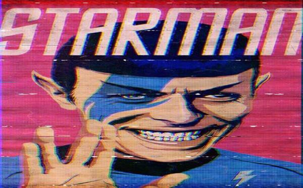 Cet artiste brésilien a transformé David Bowie en super-héros de la pop culture