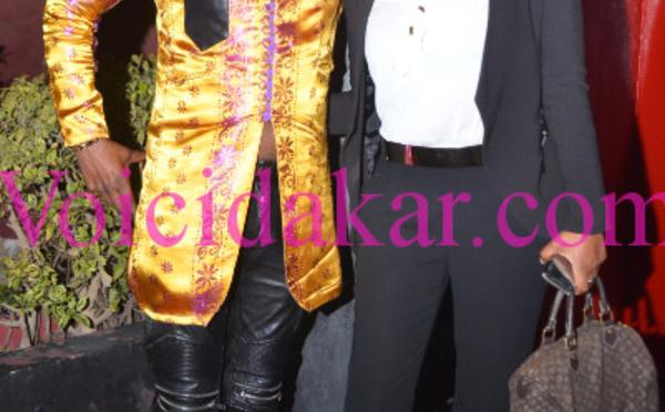 Le chanteur Manel Diop en compagnie de Valérie, la femme de El Hadji Diouf…