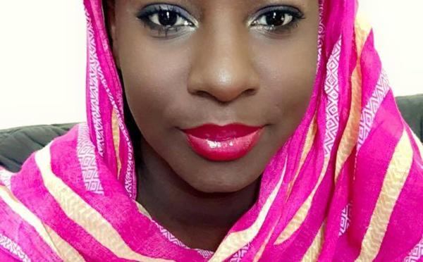 La toute belle Sophia Thiam Mbacké, petite soeur de Lissa