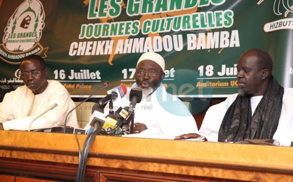 Les images de la conférence de presse des préparatifs des journées culturelles Cheikh Ahmadou Bamba par Hizbut Tarqiyyah