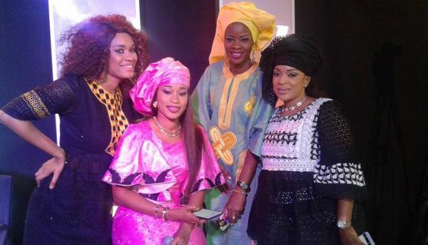 Aïda Samb rayonnante aux côtés de Ndack, Alphie et Mado