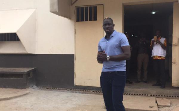 Photos : Mamadou Sakho à la prison d'Abidjan