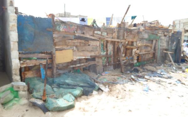 Découvrez les incroyables dégâts causés par l'avancée de la mer à  saint Louis