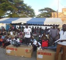 Équipement des pêcheurs de Mbao: Abdou Karim Sall offre des moteurs hors-bords