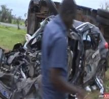 Vidéo : Choc mortel entre un camion et une voiture 4x4 à Bambey