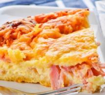 La quiche au jambon et au fromage, la recette facile et inratable !