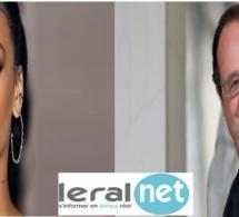 Réponse au Président Hollande à Rihanna : ''Chère @Rihanna, merci pour votre engagement…''