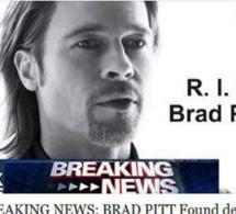 Brad Pitt s'est suicidé: l'hoax qui vous fera regretter d'être curieux