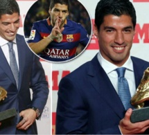 Photo : Luis Suarez, soulier d'Or