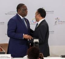 Photos: Cérémonie de passation de la présidence du 16e Sommet de la Francophonie du Président Macky SALL au Président de Madagascar.