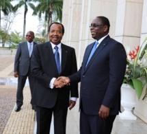 Photos : le Président Macky Sall au Cameroun où il a été reçu par son homologue, Paul Biya