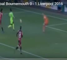 Bournemouth / Liverpool (4-3) : Magnifique but de Sadio Mané (0-1) Regardez!