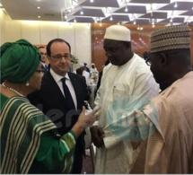 Photos : Le président élu de la Gambie Adama Barrow parmi ses pairs africains et autres dirigeants d'Europe lors du sommet de Bamako sur la paix en Afrique