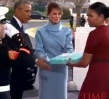 Vidéo: Poignée de mains entre Obama et Trump à la Maison-Blanche, regardez !!!