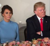 Photo- Le couple présidentiel américain au déjeuner organisé par le Congrès