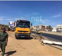Photos: déguerpissement des mécaniciens à Yoff sous le contrôle des forces de l'ordre