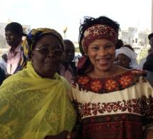 Aissata Tall Sall en soutien du maire Khalifa Sall (Photos)