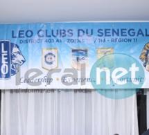 Cérémonie Lion's Club Dakar Téranga