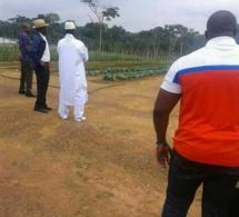 Images- Yahya Jammeh fait sa première apparition publique en Guinée équatoriale