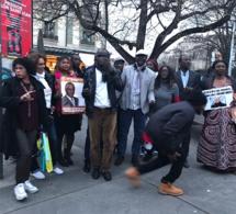 (Images): Manifestation de l'opposition dans les rues de Genéve