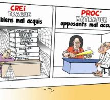 Le nouveau visage de la justice: Traque et matraque..... des opposants  (par Odia, La Tribune)