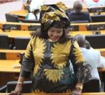 Photos- La député Fatou Diouf de Yarakh en quelques clichés à l'assemblée nationale