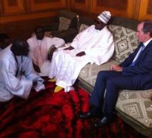 L'Ambassadeur de France, Christophe Bigot à Touba chez le Khalife général des Mourides.