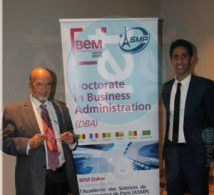 Cérémonie de lancement du Doctorate in business administration (DBA) de BEM Dakar