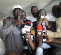 Bamba Fall à peine sorti de prison parle à la presse