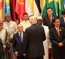 24 photos : Macky Sall-Donald Trump, la poignée de mains à Ryad