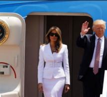 Melania et Donald Trump sont arrivés en Israël