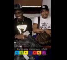 Vidéo – Wally Seck et El Hadj Diouf en toute complicité à l'aéroport ! Regardez.