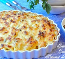 Comment préparer un  gratin de pommes de terre rapide, simple et très bon
