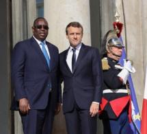 Rencontre entre Son Excellence Macky Sall et le Président Emmanuel Macron à l'Elysée - Paris, France (photos)