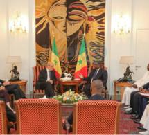 Photos: Le Président Macky Sall a reçu en audience Jean Yves Le Drian ce vendredi