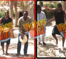 """Vidéo: Patrice Evra s'éclate au Sénégal au rythme endiablé des """"tamas"""""""