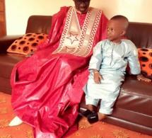 5 photos: Pape Diouf et son fils, en mode Korité