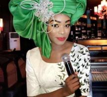 Bijou Ndiaye de la TFM en mode foulard