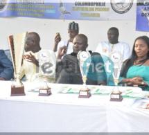 Photos : la cérémonie de remise de trophées aux lauréats 2016-2017 de la fédération sénégalaise de colombophile présidée par le RENADES avec son président Oumar Sow