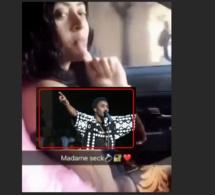 Vidéo: Sokhna Aïdara, la femme de Wally Seck s'éclate en voiture sur le son de son mari …