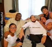 Photos: La visite de Cheikh Béthio Thioune chez son talibé américain Abdul Ahad et sa famille suite à leur accident