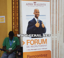 Photos: Leral.net au Forum de Recrutement Afric Talents