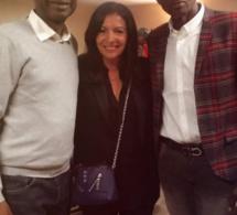 Arrêt sur Image:  Anne HIDALGO, maire de Paris, a rendu une visite de courtoisie à Youssou Ndour dans sa loge à Bercy